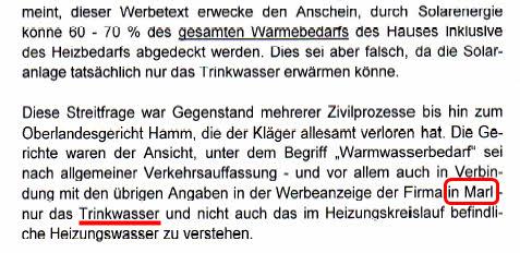 Ausschnit aus Seite 2 des Schreibens des NRW-Justizministeriums vom 11.09.2008 an das Verwaltungsgericht Gelsenkirchen.
