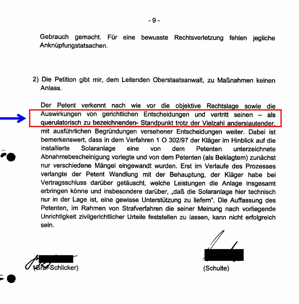 PraesLandgerBochum20060102_Petition_Querulatorischen_Standpunkt_ano