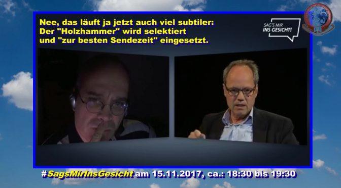 """#SagsMirInsGesicht: @KaiGniffke und die """"Unbequemen Wahrheiten"""" über die @TAGESSCHAU"""